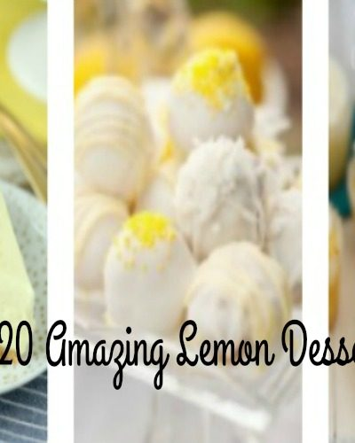 20 Amazing Lemon Desserts Are Perfect For Spring