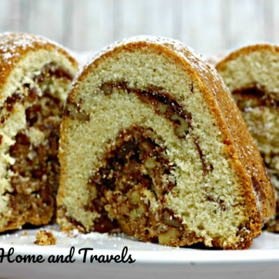 A Delicious Whiskey Walnut Bundt Cake