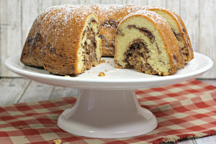 A Delicious Whiskey Bundt Cake