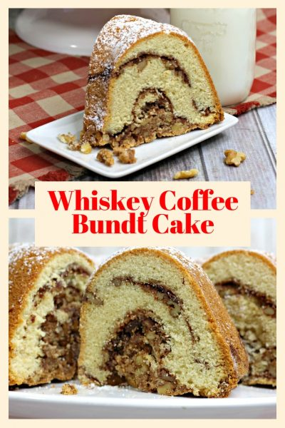 delicious whiskey coffee bundt cake