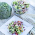 broccoli bacon salad my home and travels