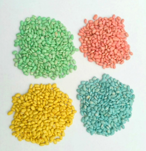 How To Dye Beans For Centerpieces and Decor