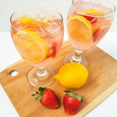 A Refreshing And Easy Pink Lemonade Moscato