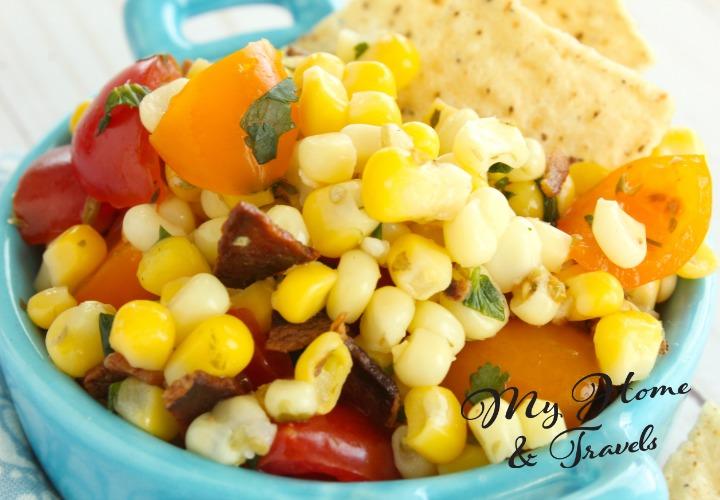 Simple As Can Be Taco Bar Corn Salad