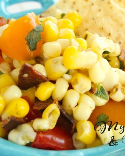 Simple As Can Be Taco Bar Corn Salad