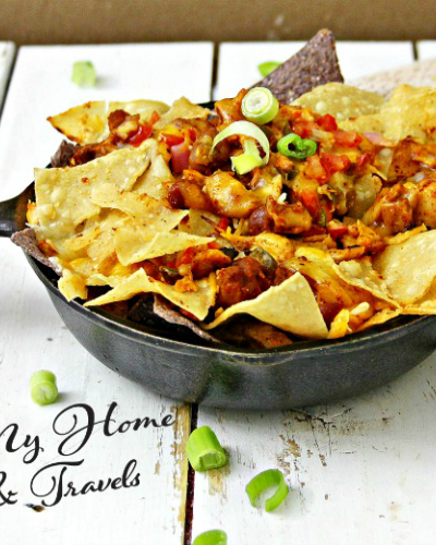 Making The Ultimate Skillet Nachos