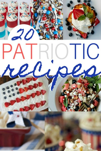 20 Patriotic Recipes for the 4th of July