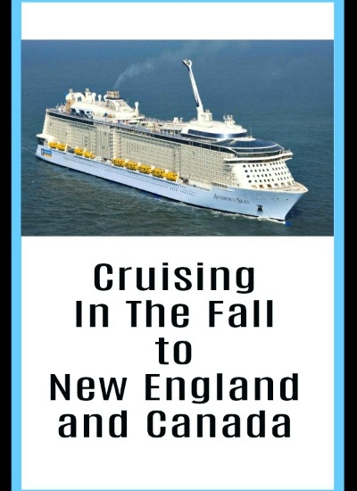 Cruising In The Fall to New England and Canada