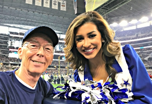 dallas cowboys game at&t stadium visit my home and travels cheerlead and don