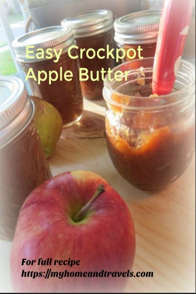 apple butter my home and travels pinterest image