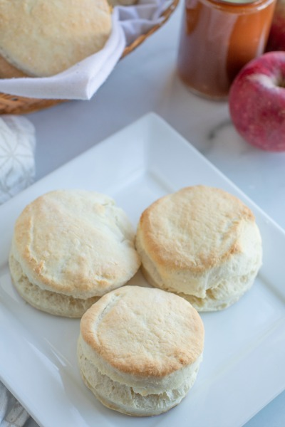 Fast and Easy 2 Ingredient Biscuits