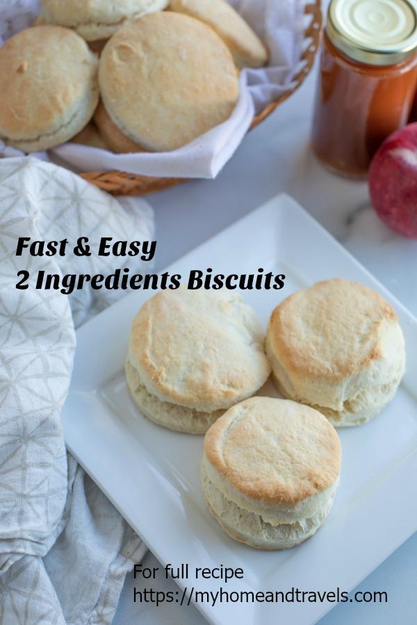 2-Ingredients Biscuits