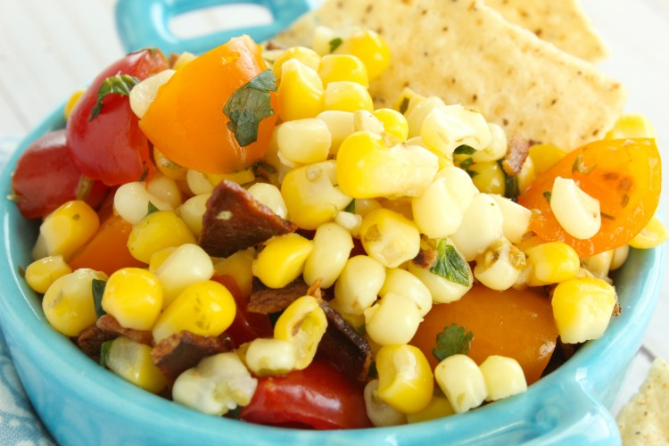 corn salad my home and travels