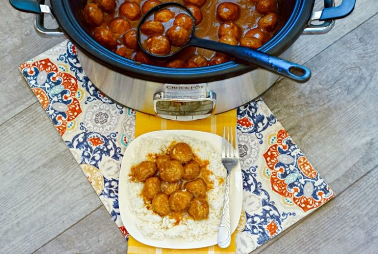 Crock Pot Meatballs and Gravy