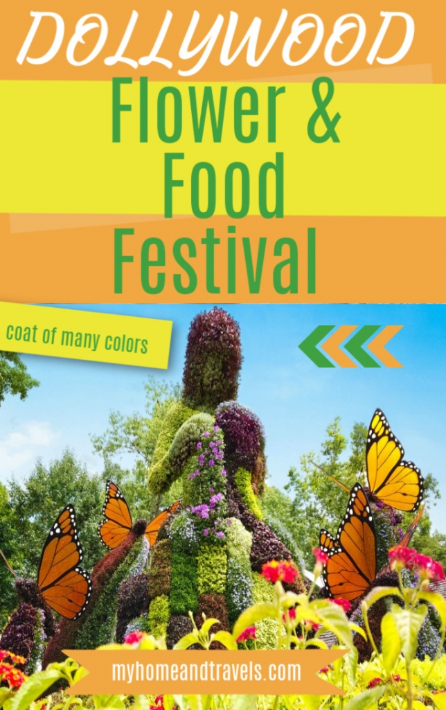 Flower and Food Festival at Dollywood  pinterest
