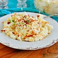 loaded potato salad recipe featured