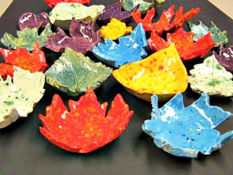 great-diy-fall-decor-ideas-my-home-and-travels leaf bowls