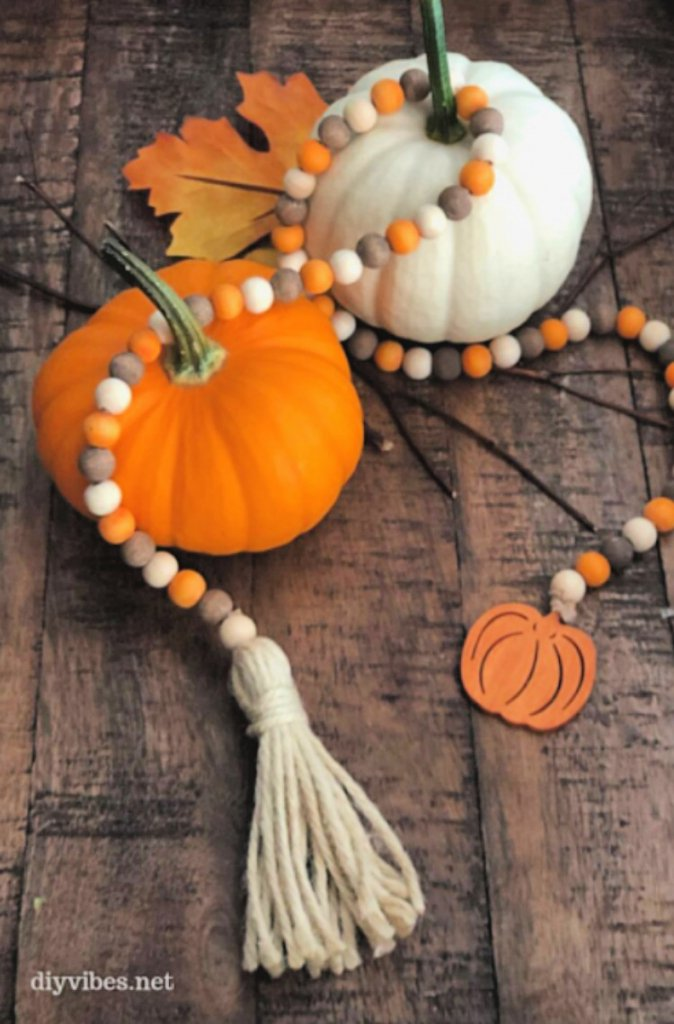 great-diy-fall-decor-ideas-my-home-and-travels wooden beads