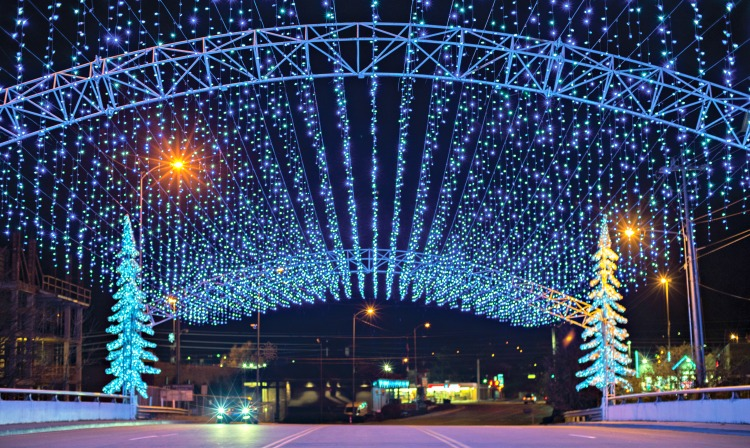 attractions of pigeon forge my home and travels winterfest lights