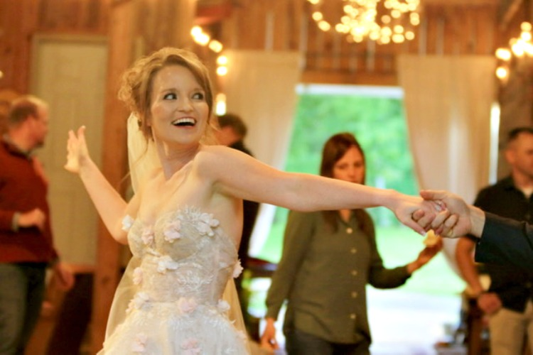 dancing at tiny weddings a farmhouse gathering my home and travels