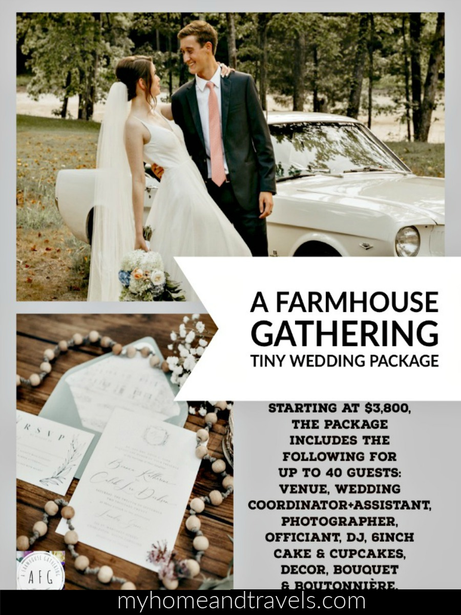 A Budget Friendly, Tiny Wedding by a farmhouse gathering my home and travels