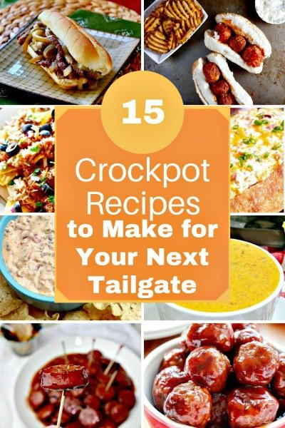15 Crockpot Recipes For A Tailgate Party feataure image