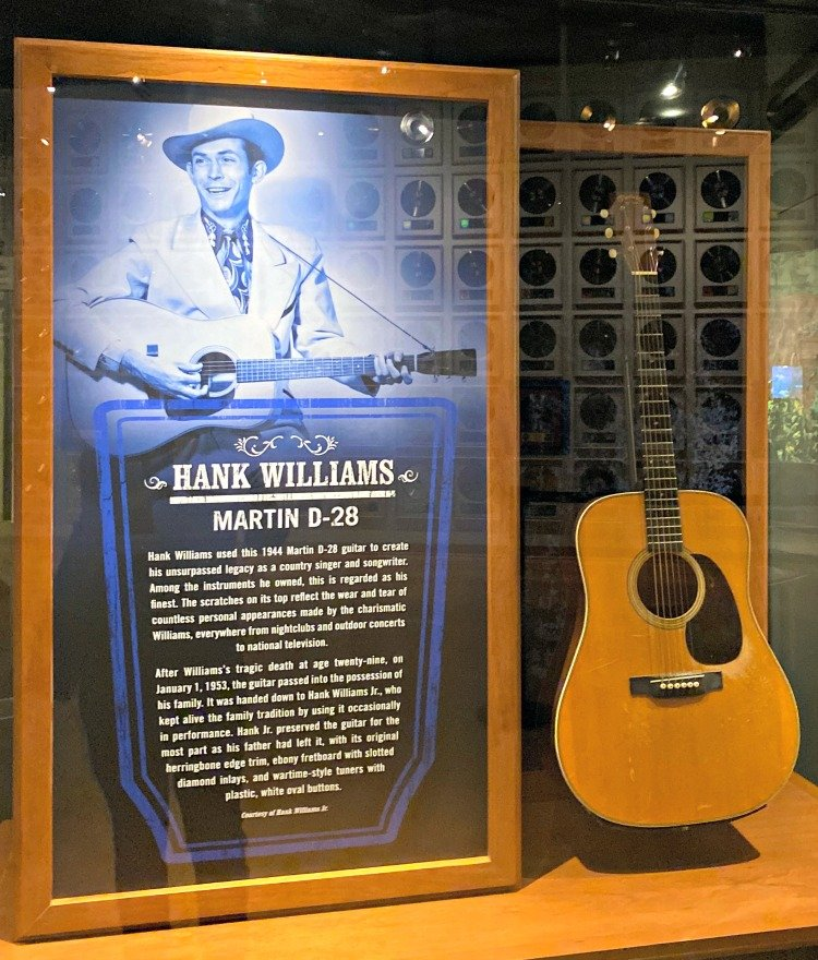 country music hall of fame hank williams