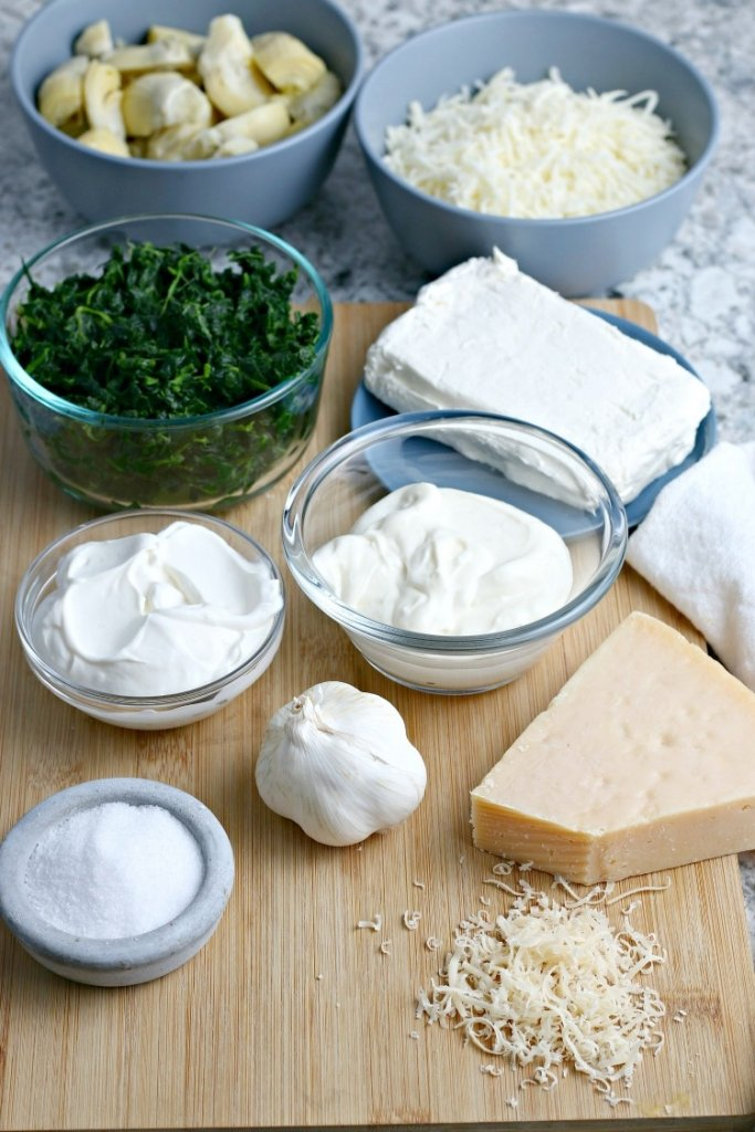 spinach-artichoke-dip-feature-my-home-and-travels gather your ingredients