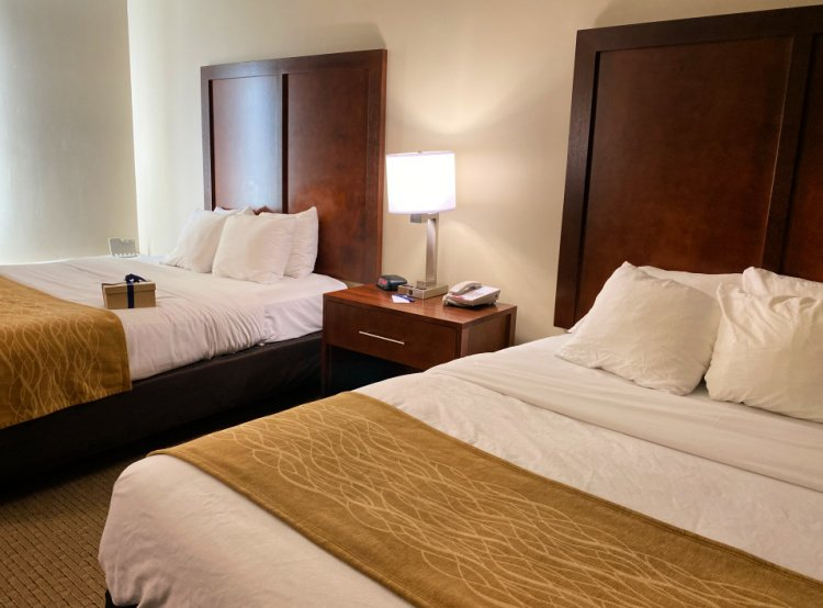 comfort-inn-monticello-charlottesville-my-home-and-travels double queen room