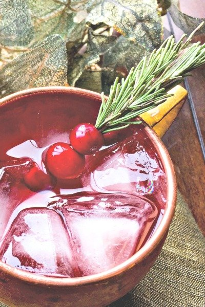 cranberry moscow mule featured image