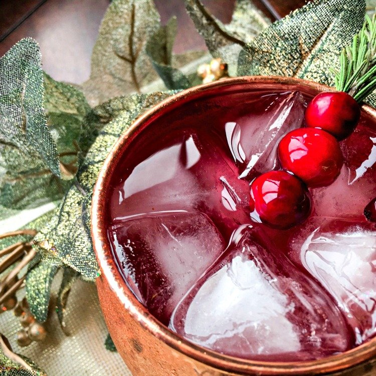 moscow mule cranberry my home and travels