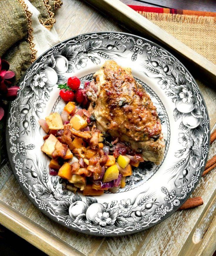 Cranberry Orange Chicken Breasts recipe image