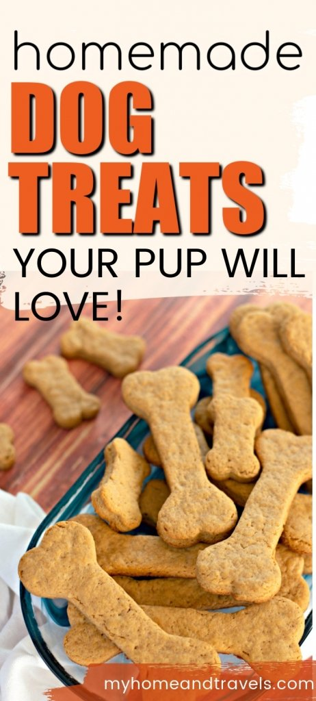 homemade dog treats my home and travels pinterest image