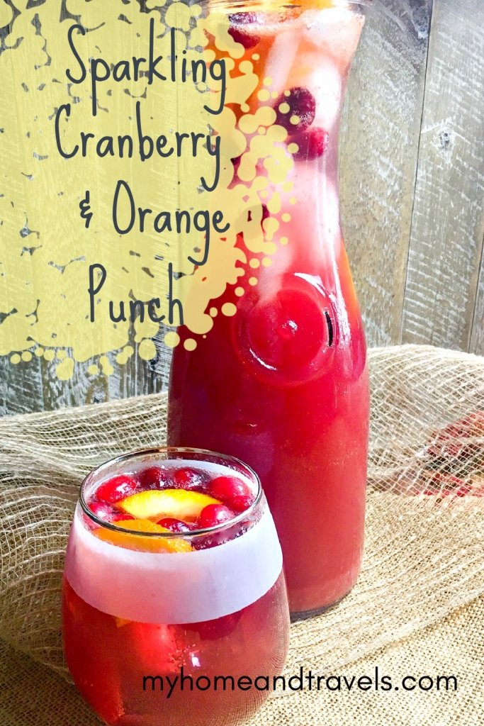 cranberry orange spice punch my home and travels pinterest