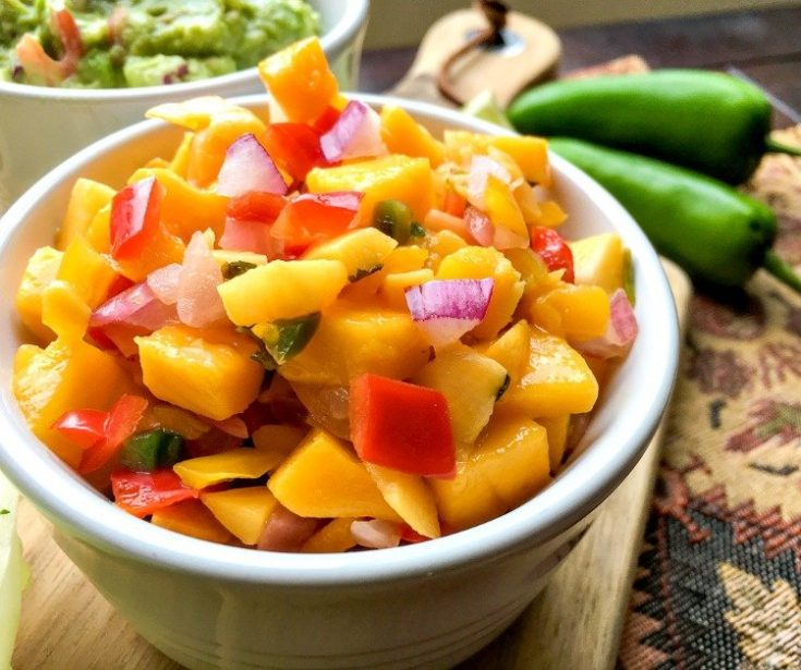 Spicy Mango Salsa Isn't Just For Tacos recipe pic