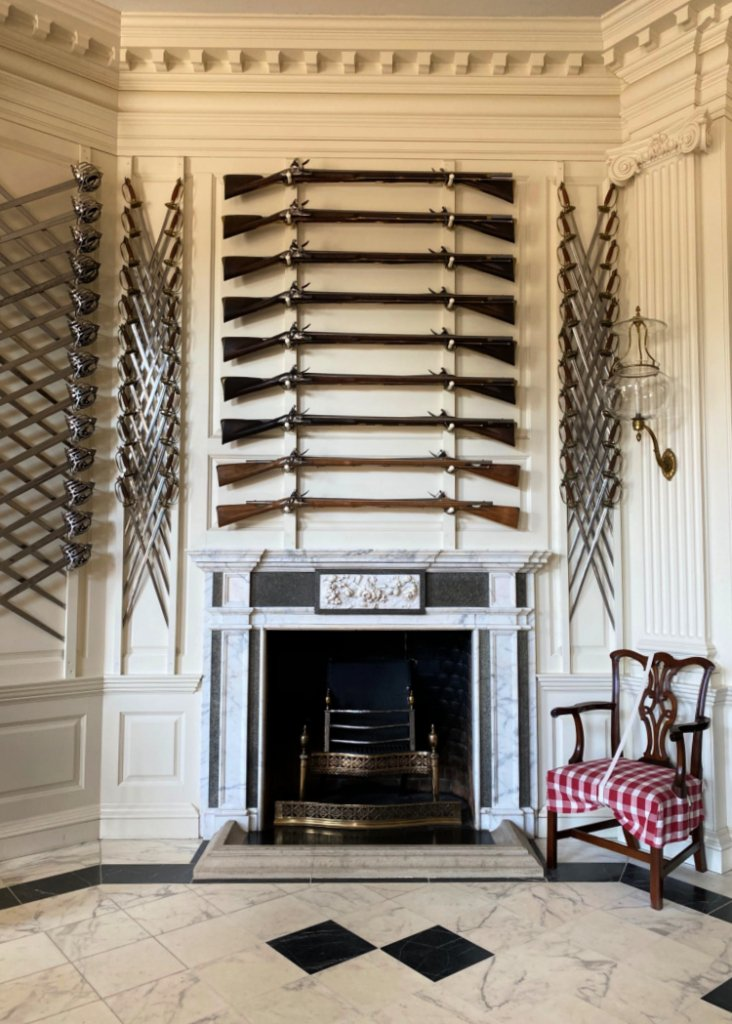 visit-to-williamsburg-my-home-and-travels-governors mansion swords