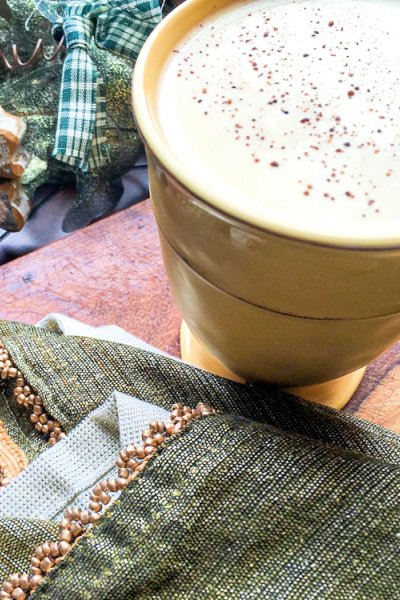homemade eggnog my home and travels