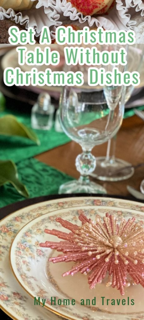 set a christmas table without christmas dishes my home and travels