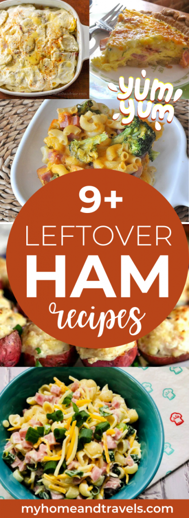 how-to-use-leftover-ham-my-home-and-travels pinterest