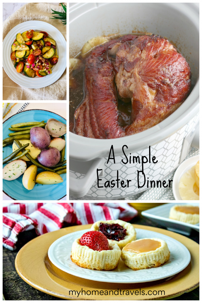 simple easter dinner menu my home and travels