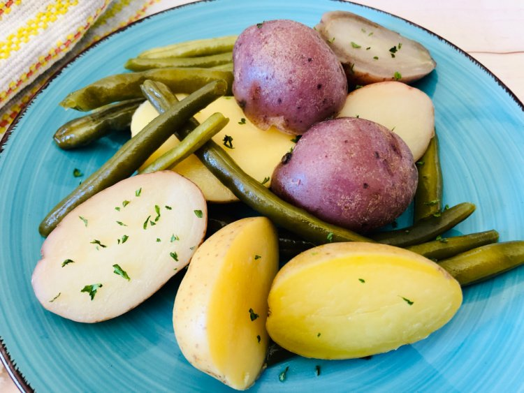 potatoes and green beans my home and travels