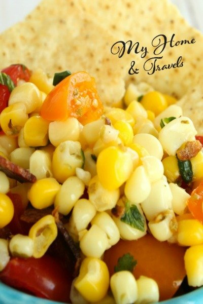 taco corn salad my home and travels