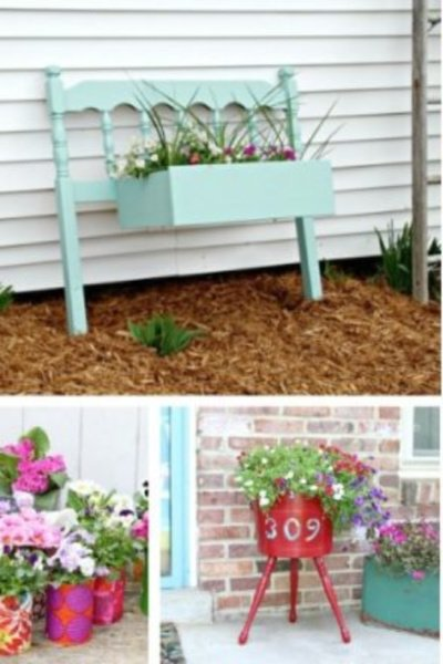 20 upcycle planter ideas front porch my home and travels