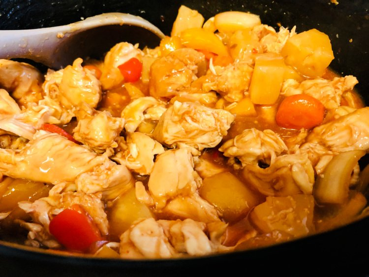 slow cooker sweet and sour chicken my home and travels in pot