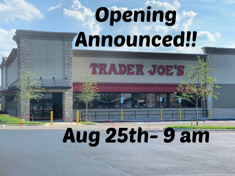 trader joes opening chattanooga my home and travels