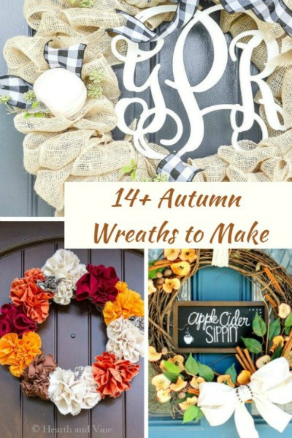 autumn wreaths my home and travels