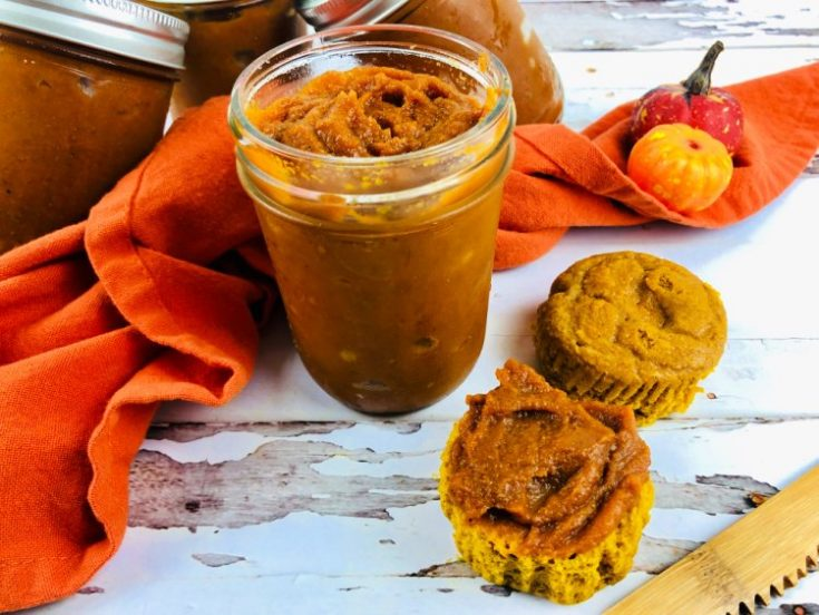 How To Make Pumpkin Butter in the Crockpot my home and travels in jars
