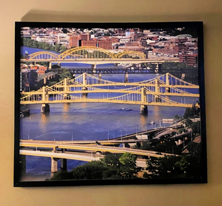 drury plaza hoel downtown pittsburgh my home and travels  art work bridges