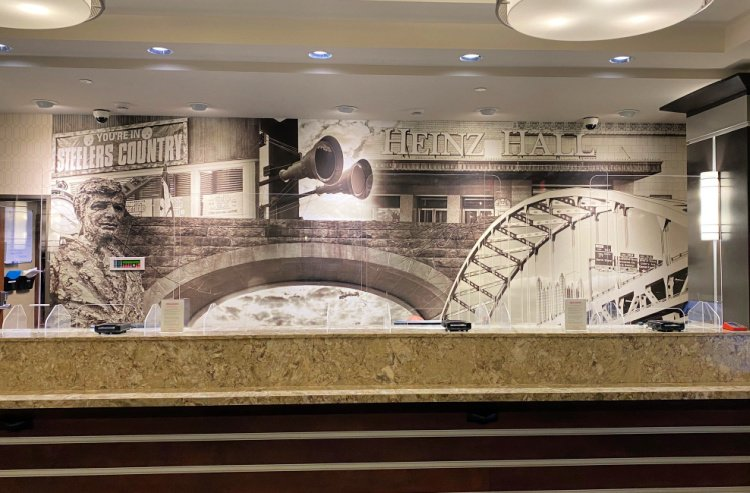 drury plaza hoel downtown pittsburgh my home and travels front lobby desk