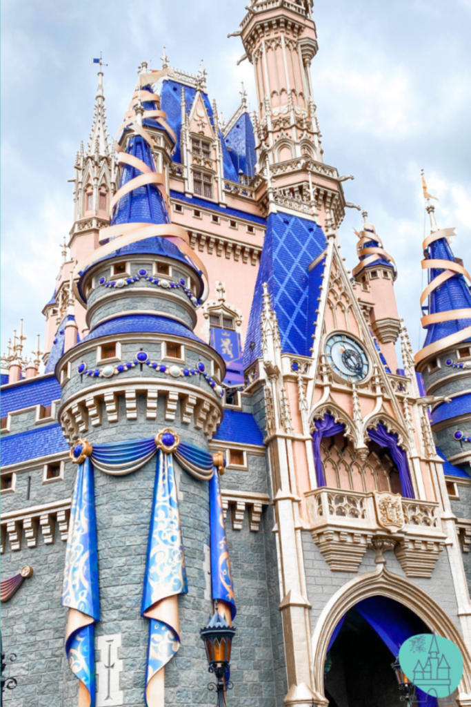 using a disney planner my home and travels cinderella castle